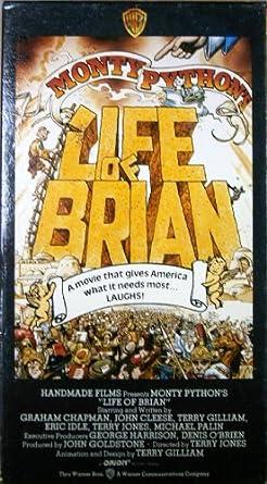 Amazon Com Monty Python S Life Of Brian Graham Chapman John Cleese Terry Gilliam Eric Idle Terry Jones Michael Palin Terry Jones George Harrison Denis O Brien Movies Tv