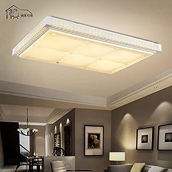 Gyn Einfach Rechteckig LED Lampe Schlafzimmer Esszimmer Wohnzimmer  Schlafzimmer Beleuchtung Lampe