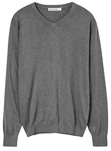 meters-bonwe-mens-casual-v-neck-long-sleeve-solid-color-sweater-grey-m