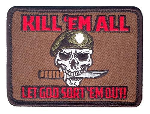 Rothco Kill Em All Let God Sort Em Out Morale Patch