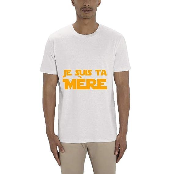fdbd2282c0e6 T-Shirt Premium - Manche Courte - Col Rond - Je suis ta Mere - Homme ...