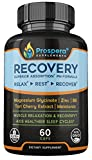 Prospera Recovery – Relax, Rest & Recover. Magnesium Glycinate, Tart Cherry Extract, Zinc