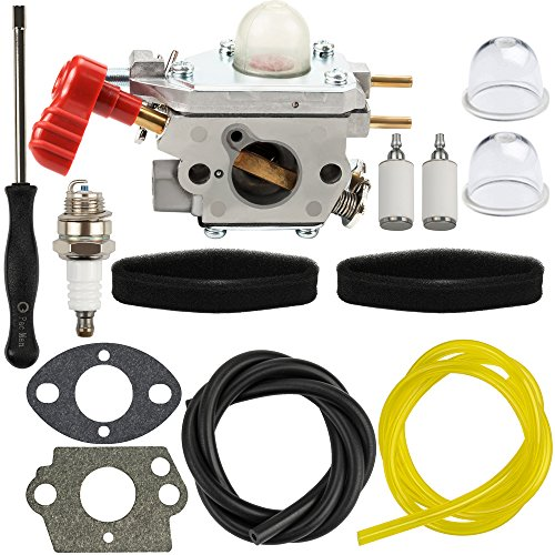 Panari C1U-P27 Carburetor with Air Filter Adjustment Tool for Craftsman 316711171 316711190 316711192 316725860 316731200 316740800 316740820 316740870 316740890 Trimmer Weedeater by Panari