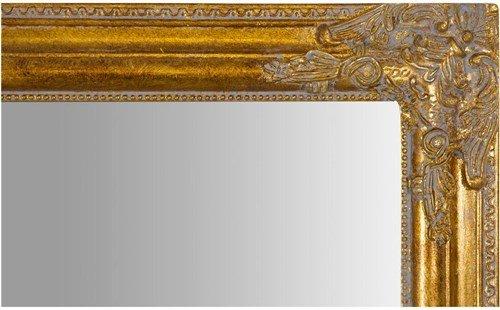 72 x 3 x 180 cm acabado dorado envejecido Espejo para colgar de forma vertical u horizontal