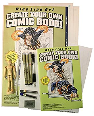Create Your Own Comic Book Deluxe Set!