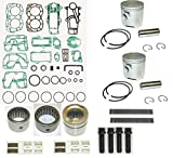 "Mercury Power Head Rebuild Kit 25 Hp 2 Cylinder 2.562"" Bo..."