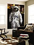 Astronaut Moonwalk Suit at the U.S. Space & Rocket Center, Huntsville, Alabama, USA Wall Mural by Walter Bibikow 48 x 72in