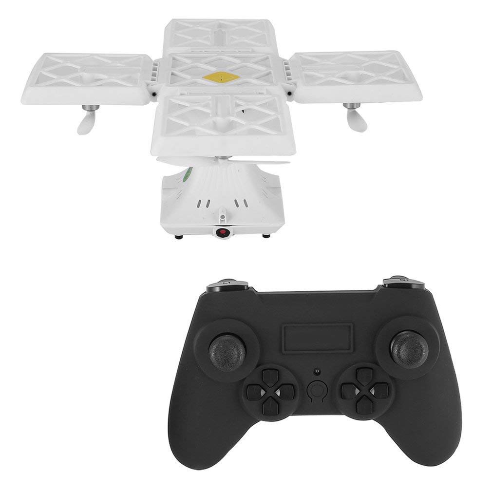 414 Foldable RC 2.4G RC with Quadcopter Drone UAV with RC Headless Mode 3D Flips White d3167f