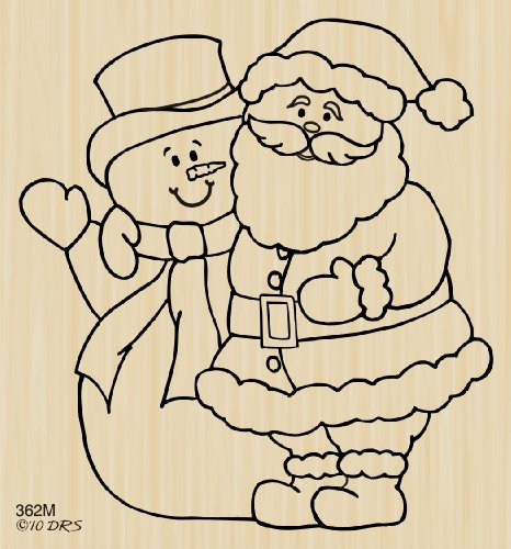 Wintertime Buddies Rubber Stamp By DRS Designs