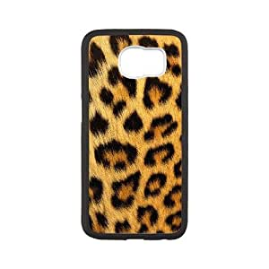 Samsung Galaxy S6 Cell Phone Case White Snow leopard Tdxgo