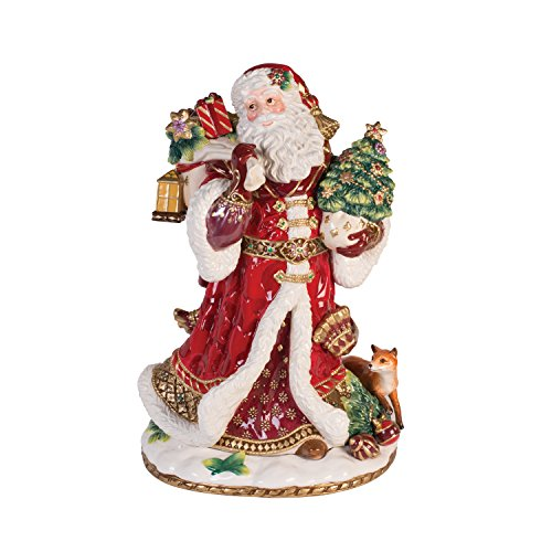 Fitz and Floyd 49-659 Renaissance Holiday, Santa Figurine - Fitz And Floyd Renaissance