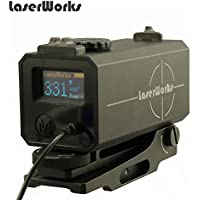 LaserWorks LE-032 Riflescope Mate rangefinder 700M Mini Tactical Outdoor Hunting Shooting Rangefinder Archery Crossbow Sight Target Scope