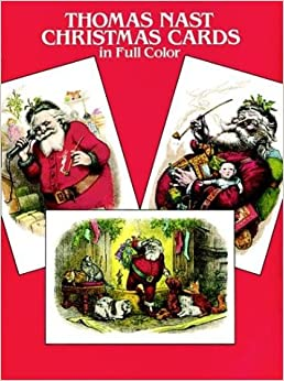 Book Thomas Nast Christmas Postcards in Full Color: 24 Ready-to-Mail Postcards