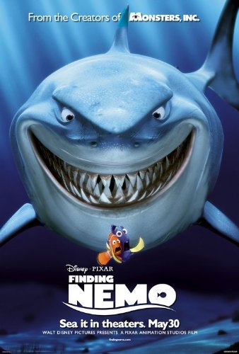 Image result for finding nemo movie poster