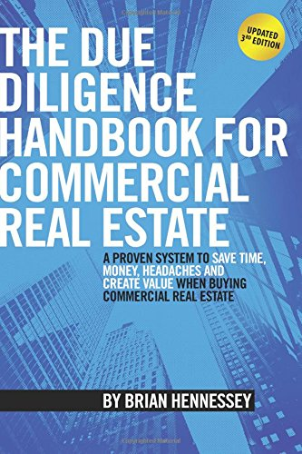 Download pdf the due diligence handbook for commercial real estate read the due diligence handbook for commercial real estate a proven system to save time money headaches and create value when buying commercial real fandeluxe Gallery