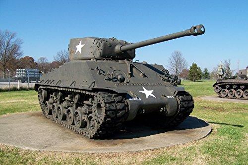 LAMINATED POSTER M4A3E8 Sherman Tank Easy Eight (Tank M4a3e8)