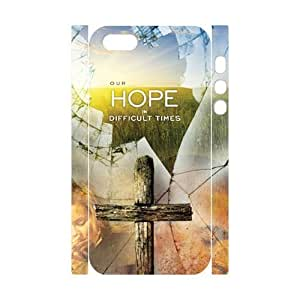 Cool Painting Cross Custom 3D Cover Case for Iphone 5,5S,diy phone case case549810