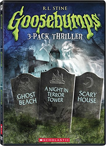 Goosebumps: Ghost Beach / A Night in Terror Tower / Scary House Triple