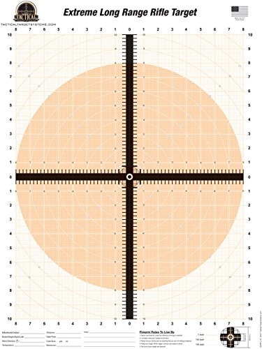 Tactical Target Systems LLC | Extreme Long Range Rifle Target (25 Pack) 19