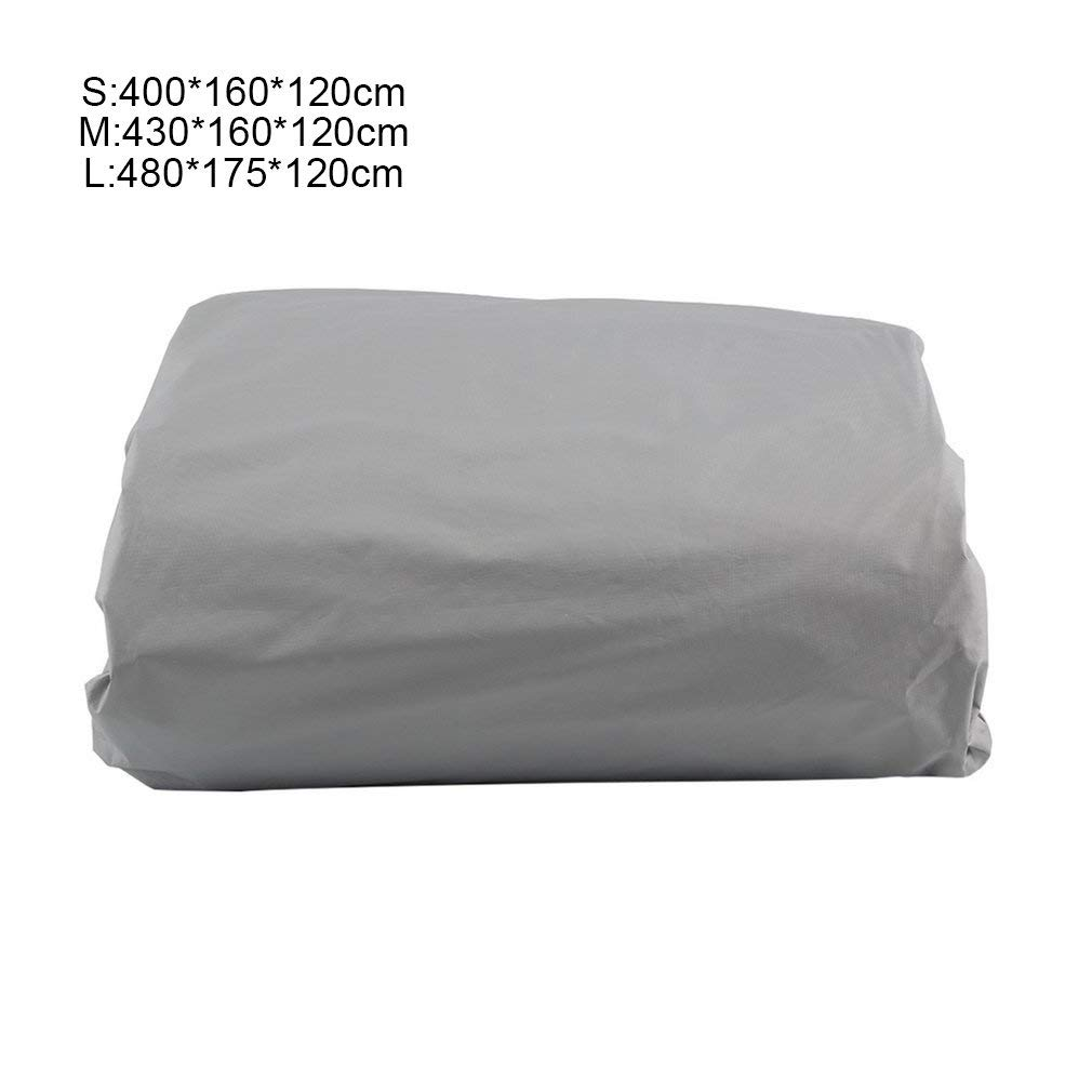 FinukGo Impermeable a Prueba de Polvo Membrana Exterior Cubierta Completa del Coche Resistente a los Rayos UV Tela Transpirable Lluvia al Aire Libre Resistente al Hielo y la Nieve Resistente al Hielo