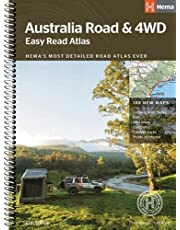 Australia Easy Read Road and 4WD atlas A3