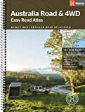 Australia Easy Read Road and 4WD atlas A3 2018: HEMA.A.041SP