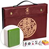 "Yellow Mountain Imports Professional Chinese Mahjong Game Set, ""Standard"""