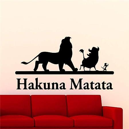 guijiumai Lion King Etiqueta de La Pared de Dibujos Animados ...