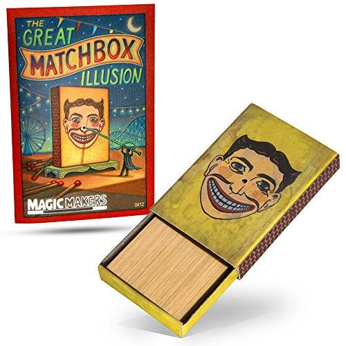 Magic Makers the Match Box Penetration Magic ()