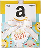 Amazon.com Gift Card in a Hello Baby Reveal (Classic White Card Design)