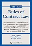 Rules of Contract Law, 2015-2016 Statutory Supplement (Supplements)