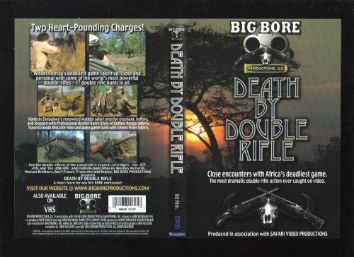 Death By Double Rifle DVD African Hunting Video (African Hunting Videos)