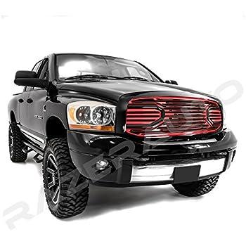 Amazon.com: Razer Auto Black/Red Big Horn Complete Grille ...
