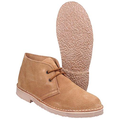Daim Cotswold Bottines À Chaussures Desert Lacets Taupe Hommes Sahara Bottes Velours wB0qrZ0XW