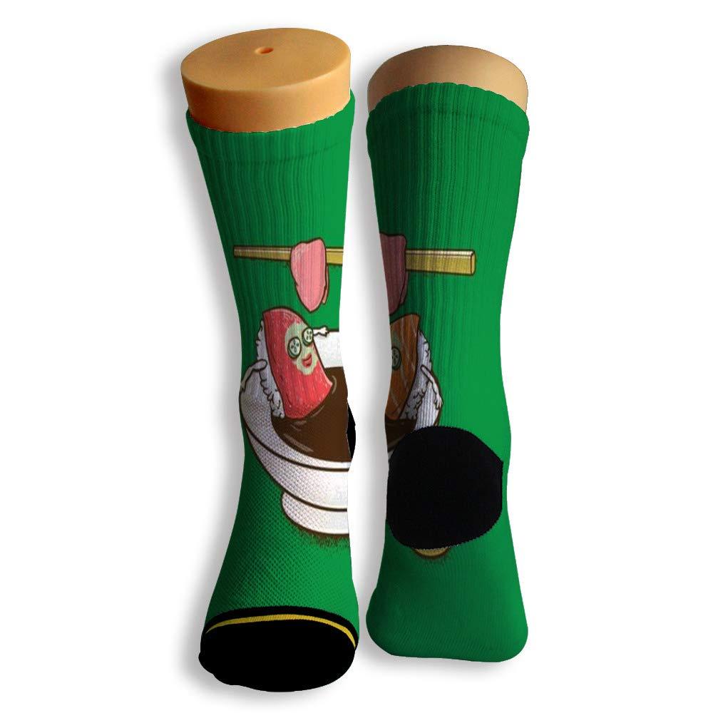 Basketball Soccer Baseball Socks by Potooy Zushi Design 3D Print Cushion Athletic Crew Socks for Men Women