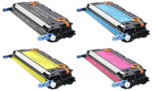 TonerBoss Remanufactured Toner Cartridge Replacement for HP 501A/502A ( Black,Cyan,Magenta,Yellow , 4-Pack )