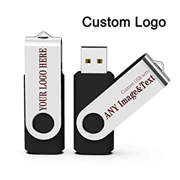 Amazon.com: Memoria USB personalizada de 1 GB, 2 GB, 4 GB, 8 ...