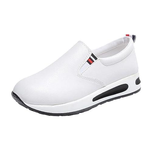 2018 Zapatos Otoño Mujer Zapatillas De Cuero Paolian Para xO7wzqTw