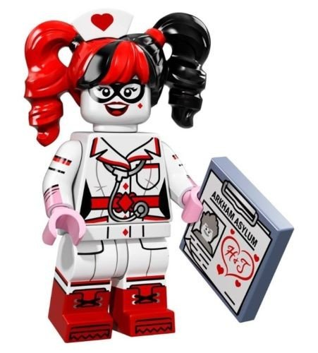 Lego The 71017 Movie Minifigure Harley Quinn Batman Nurse m8vnO0yNw