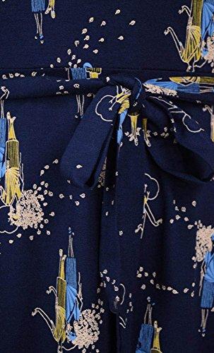 SISTERS Dark SKATER King dark DRESS Louie Navy Kleid navy Un4wq6pn