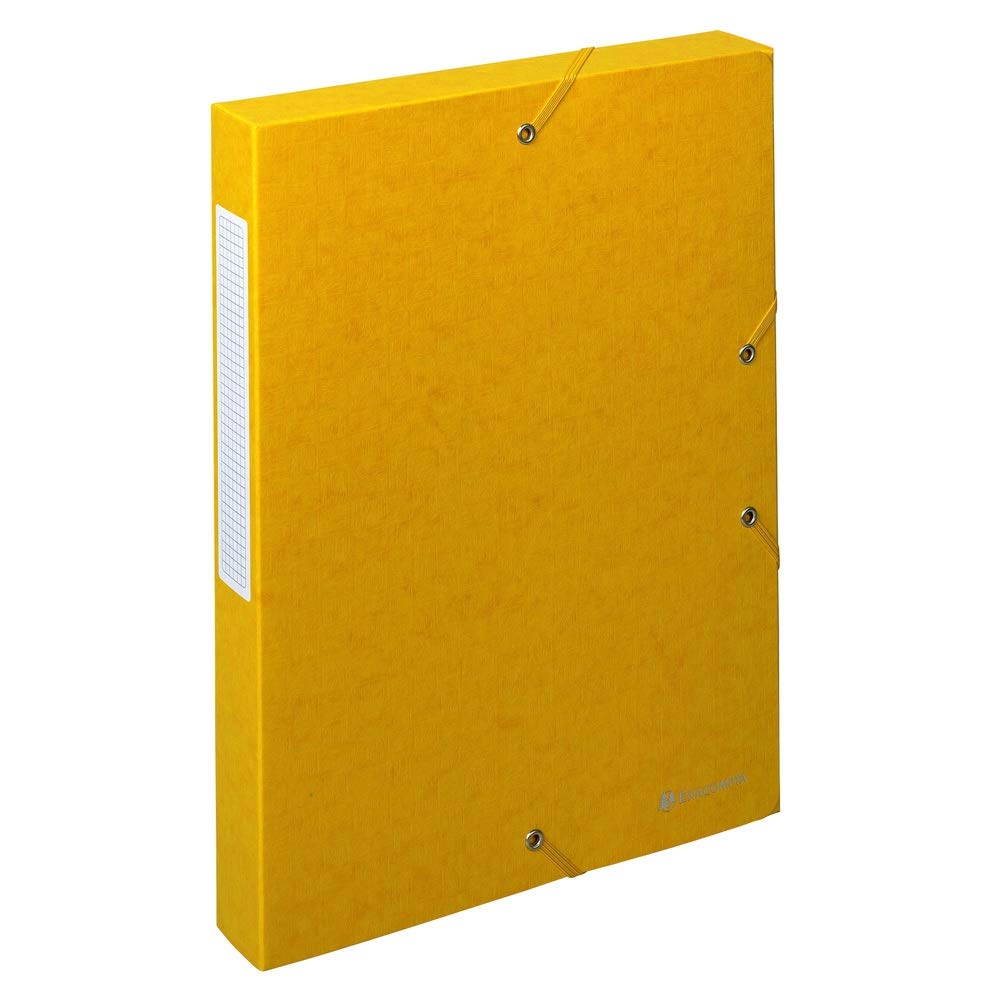 Manila-Karton, R/ückenetikett, R/ücken 60 mm, 600 g, DIN A4 Exacompta 50913E Archivbox 1 St/ück gr/ün
