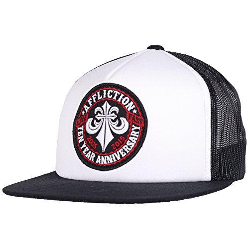 Affliction Ten Years Hat (White, OSFM)