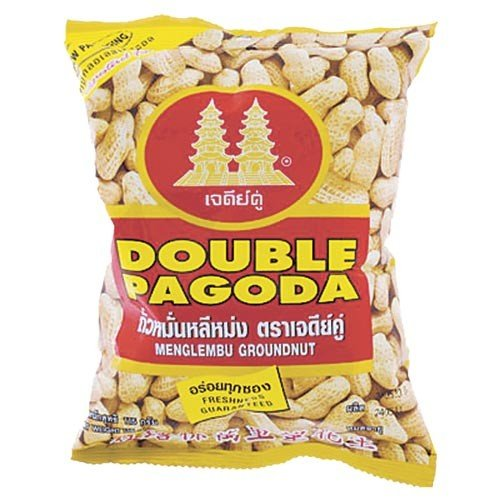 Double Pagoda Menglembu Groundnut, Fresh and Crispy,provide Energy and Protein 3.7 Oz.