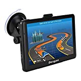 Car GPS Navigation, 7-inch HD Universal GPS, Capacitive Touch Screen, 8GB ROM,128MB RAM, Smart Notification, Driving Alarm,Latest map + Lifetime Free Update