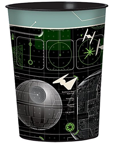 Star Wars Rogue One 16oz Plastic Favor Cup (Each)