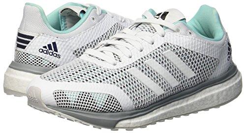 Running Metallic Adidas Response Blu Donna Aqua footwear energy White Scarpe silver rETxFwqvE