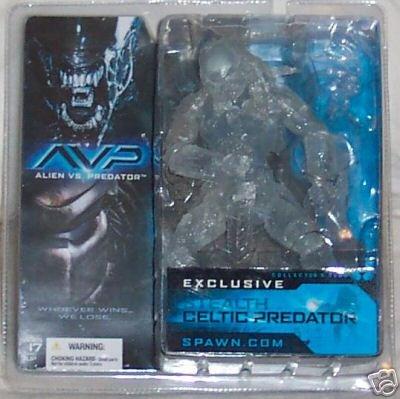 Predator Celtic (McFarlane Toys Club Exclusive Action Figure Celtic Stealth Predator)