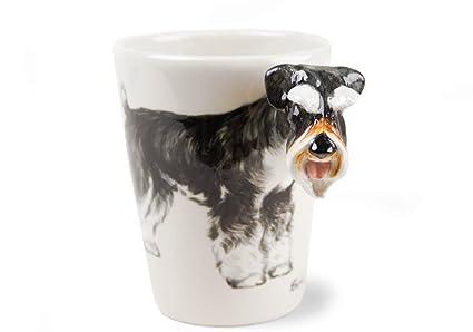 d3bf590164d Schnauzer Gift, Coffee Mug Handmade by Blue Witch
