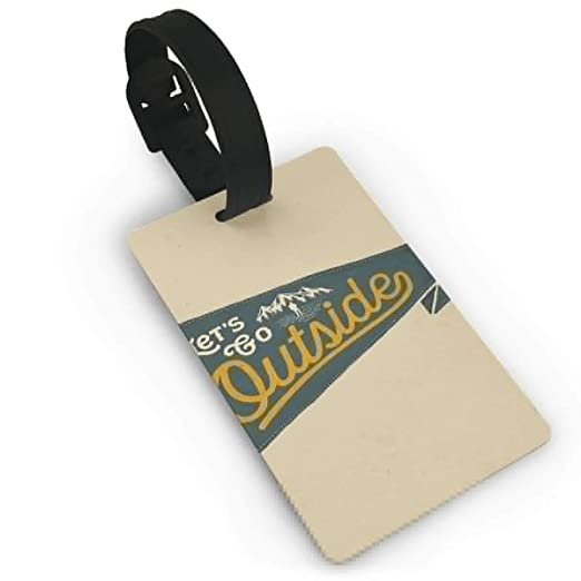 photo about Printable Luggage Tag named : Bags Tags Holders for Push Bags,Bags