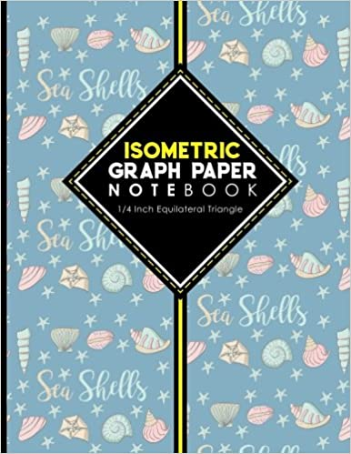 Isometric Graph Paper Notebook 1 4 Inch Equilateral Triangle For